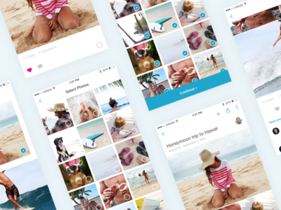 PhotoKeeper Screens