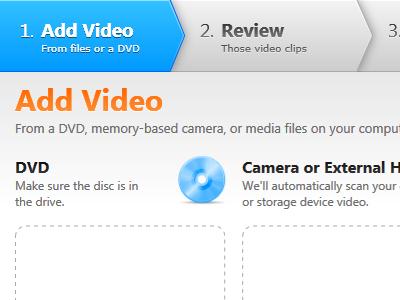 Simple Video Editing & Uploading Wizard wizard video windows wpf xaml