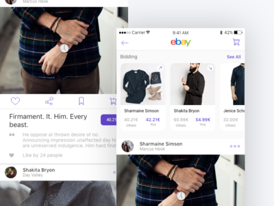 Ebay redesign conecept