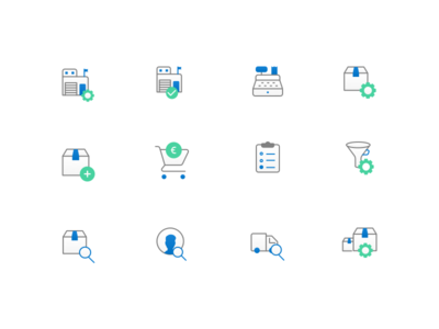 Finance Software - Icon design