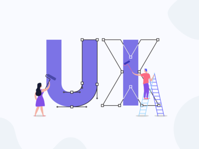 UI UX Design Illustration