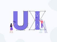 UI UX Design Illustration
