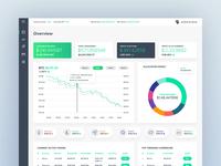 Cryptocurrency Exchange Dashboard UI