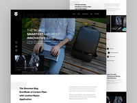 Lumzag Backpack Website Redesign