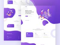 Saas Agency Landing Page