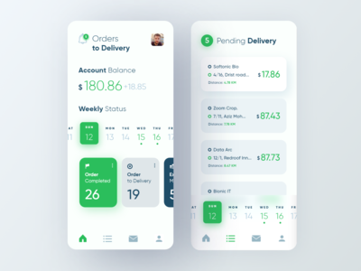 Delivery Client App