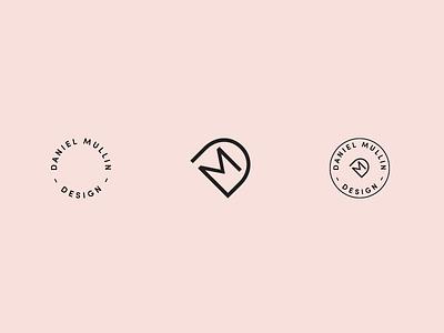 Daniel Mullin typography stamps graphic design design branding