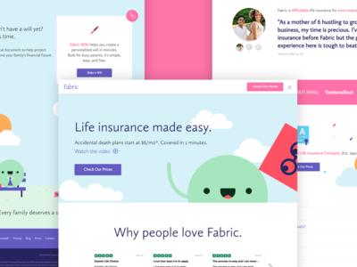 Fabric Homepage