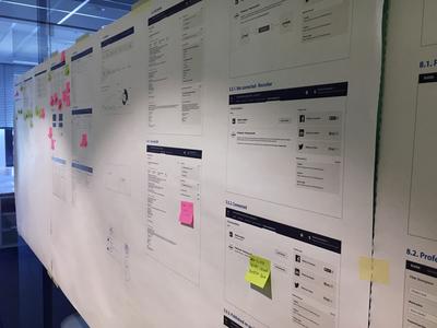Design process application validation wireframes sketch ux work in progress proces design