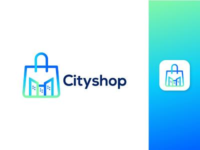 CITY+SHOP MODERN LOGO logotoday logotrend2021 cityshop shop citylogo city gradient colorfulogo modernlogo bestlogo startup logoconcept logoprofesional logoinspire logoideas logoawesome
