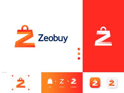 Z+SHOPPING BAG, Ecommerce LOGO colorful logo modern logo gradient brand branding bestlogo website logo ecommerce logo letter z with shop logo letter z logo shopping bag logo shop logo logoprofesional logoinspire logoideas logoawesome