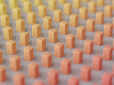 pixel density color texture data charts render abstract inspiration c4d