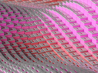 maze illustration inspiration render c4d macro geometry pattern