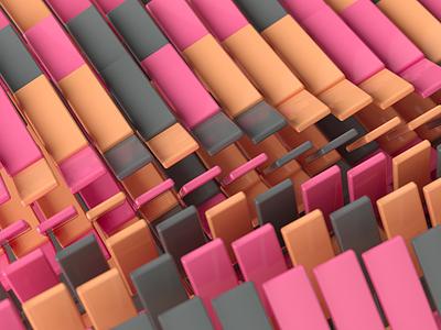 gash illustration inspiration render c4d macro geometry pattern