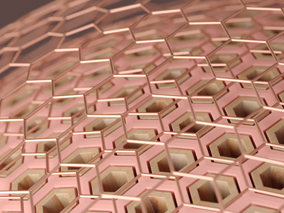 Pores illustration inspiration render c4d macro geometry pattern