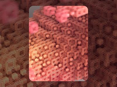 High Pass geometry macro c4d render inspiration illustration cube