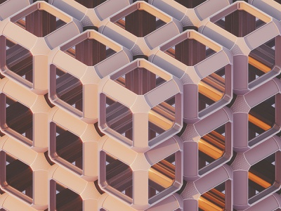 Structure inspiration colors cinema4d abstract pattern 3d geometry render c4d