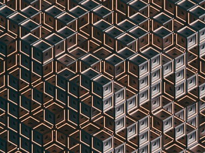 Some Cubes geometry cube texture cinema4d abstract pattern 3d inspiration illustration render c4d