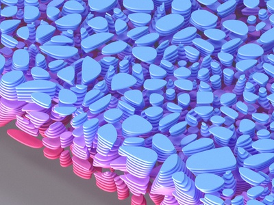 403 colors abstract pattern 3d geometry inspiration illustration c4d render