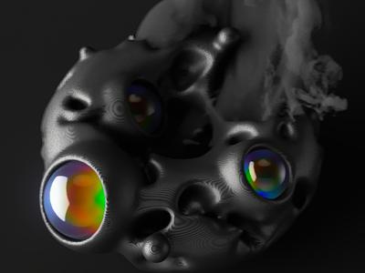 Impact colors black texture cinema4d abstract pattern 3d geometry inspiration illustration render c4d