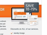 Save 10 - 15% (Newsletter Promo)