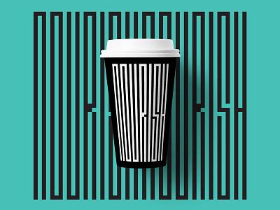 Coffeenourish nourish typography type design coffee