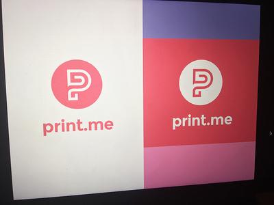 print.me logo study