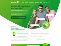 Ecolo XXL Website