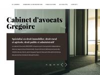 Cabgregoire Website