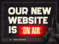 JAB! New Website