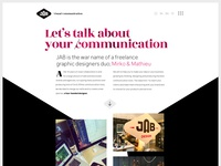 JAB!DESIGN • Visual Communication Bureau