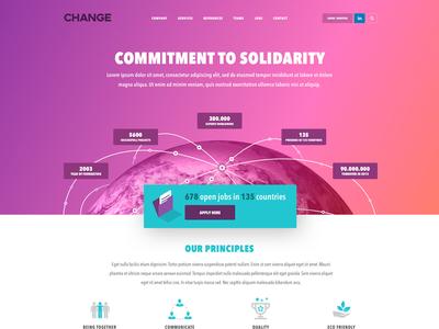 Change Website