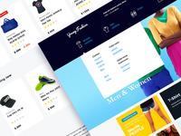 Fashion clothing e-commerce
