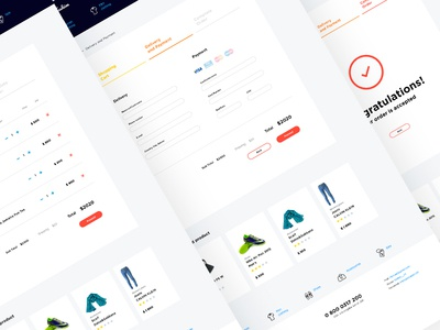 Basket design for Fashon e-commerce project