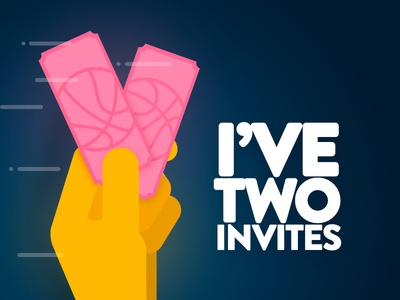 I have two dribble invitations!