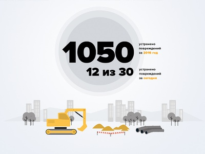 Infographics for new project infographics industrial plant factory illustration flat redesign ui ux