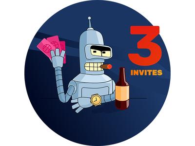 I have 3 Invites