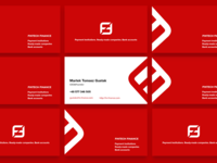 The business cards for Fintechfinance