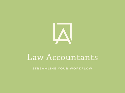 Law Accountants Logo taxes accountant law branding monogram logo