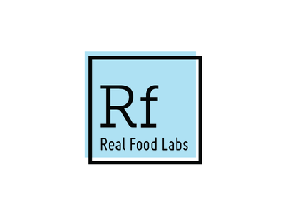 Real Food Labs science periodic table branding snack health food food