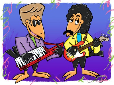 Daryl heckle and jeckle oates dribble
