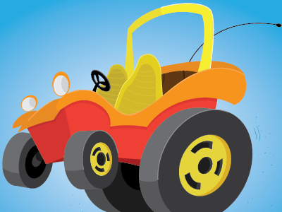 Speed Buggy! pop wheels classic speed buggy cartoons cars