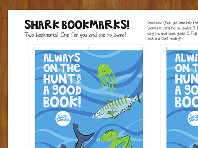 Shark Week Activities publishing design printable downloads scott soeder activities kids fun illustration shark week sharks