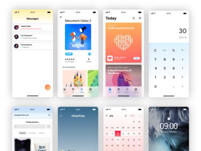 Neon (Mobile UI Kit)