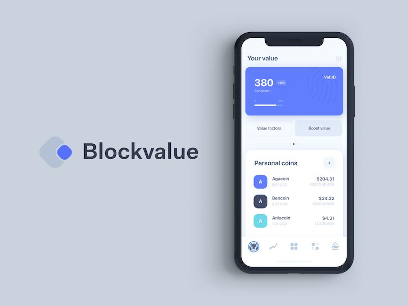 Decentralized profile app crypto token identity blockpass decentralized coin score rating profile blockchain