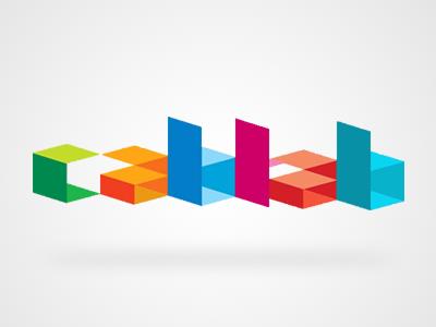 CabFab  cubism flat logo