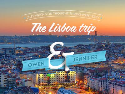 Lisboa  coffee service neutra typo lisbon poster banner