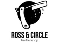Ross & Circle Barbershop logo
