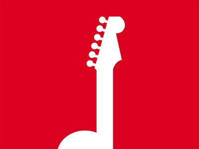 Logo for Play Guitar Notes website logo design
