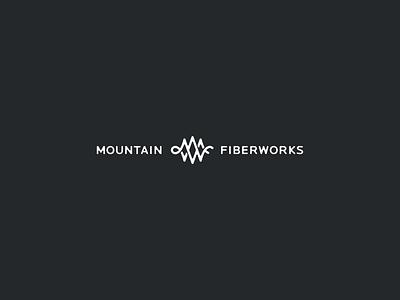 Mountain Fiberworks branding mark icon logotype indentity logo